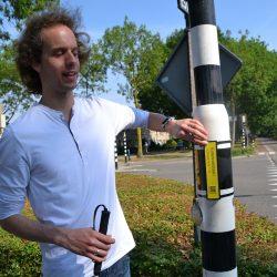 Davy Kager bedacht de Praatplaatjes voor blinden en slechtzienden
