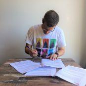 tekenen contract