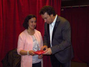 Ciham met Marco Borsate