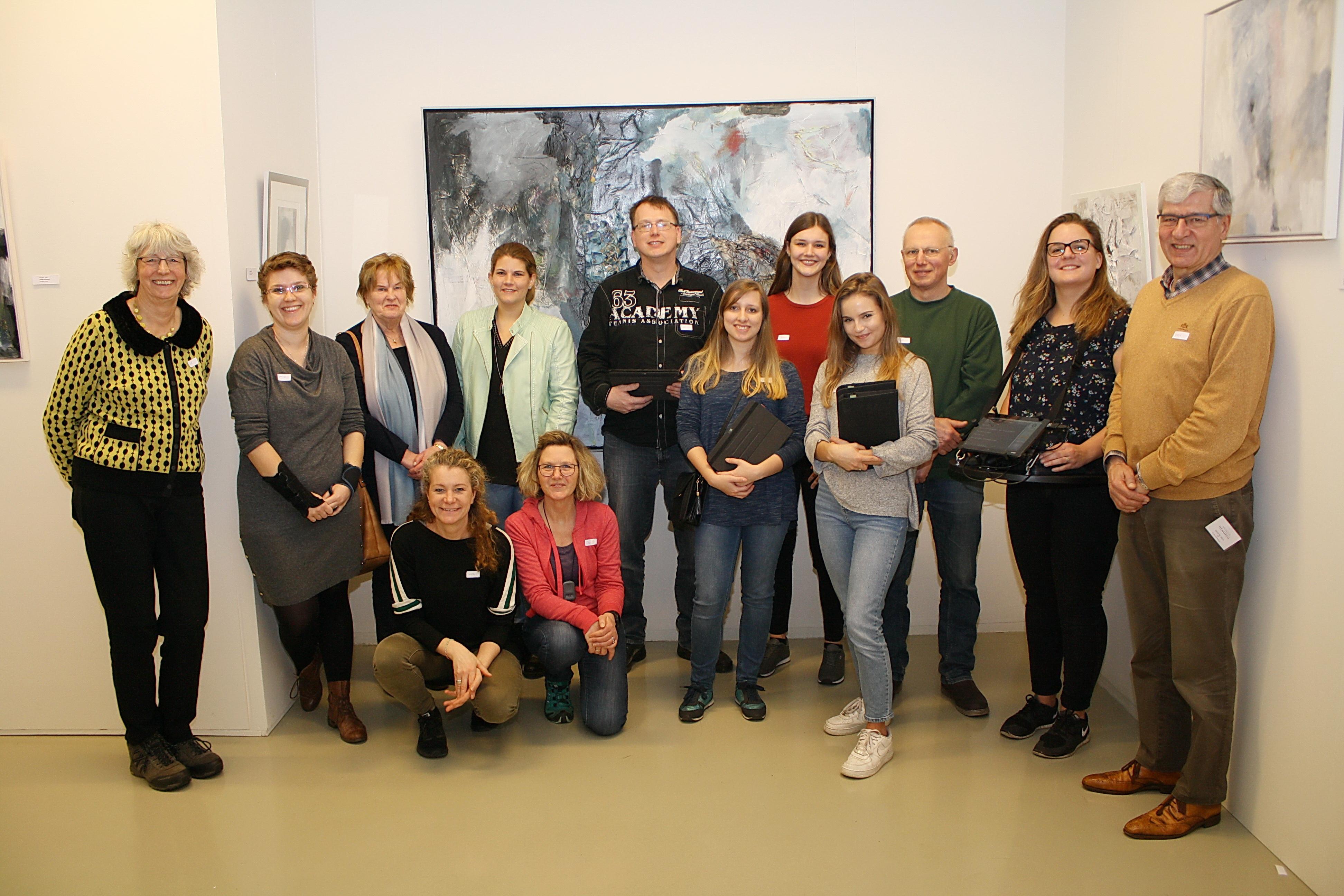 Rondleiding met schrijf- en gebarentolken in Museum Hengelo.